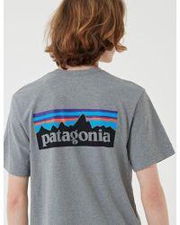 Patagonia P-6 Logo Responsibili-tee T-shirt - Gray