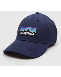 Patagonia - P-6 Logo Stretch Fit Hat - Lyst