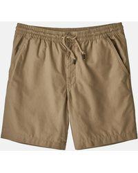 Patagonia All-wear Hemp Volley Shorts - Natural