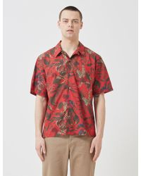 Norse Projects Askja Red Carsten Print Shirt