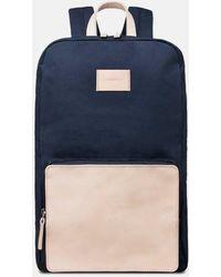 Sandqvist Kim Grand Backpack (canvas) - Blue