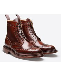 Grenson - Fred Triple Welt Boot - Lyst