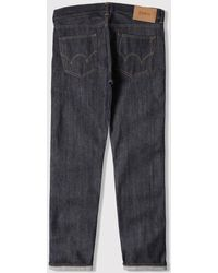 Edwin Ed-80 Cs Red Listed Selvage Denim Jeans (slim Tapered) - Blue