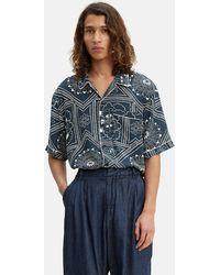 Levi's Made & Crafted Pyjama Shirt - Blue