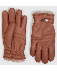 Hestra Utsjö Sport Gloves (leather) - Brown