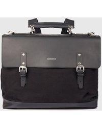 Sandqvist Jones Doctors Bag (canvas) - Black