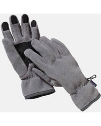 Patagonia Synch Gloves (fleece) - Brown