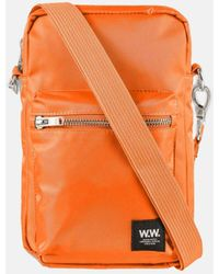 WOOD WOOD Rena Shoulder Bag - Orange
