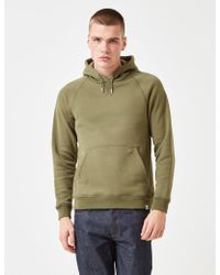 Norse Projects Ketel Hooded Sweatshirt - Green