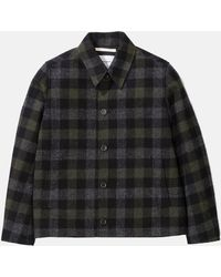 Norse Projects - Elliot Wool Check Jacket - Lyst