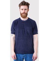 La Paz - Ferrrao Terry Toweling Raglan T-shirt - Lyst