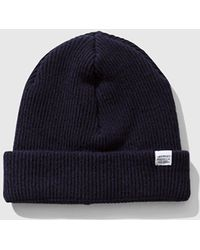 Norse Projects - Norse Beanie Hat - Lyst