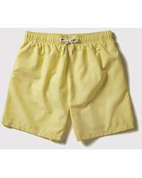 Boardies Drawstring Swim Shorts (mid-length) - Yellow