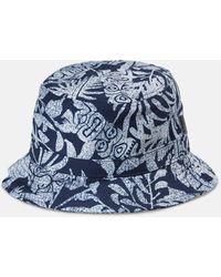 Carhartt Wip Tiki Mono Bucket Hat - Blue