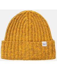 Norse Projects Neps Beanie Hat (wool) - Yellow
