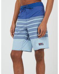 Patagonia Stretch Wavefarer Boardshorts (21 In) - Blue