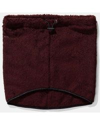 Norse Projects Fleece Neck Warmer - Red