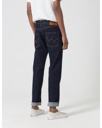 Edwin Ed-55 Cs Red Listed Selvage Jeans (tapered) - Blue
