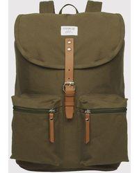 Sandqvist Roald Ground Backpack (canvas) - Green