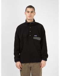 Patagonia Synchilla Snap-t Pullover - Black