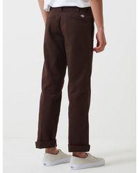 Dickies 873 Work Pant (slim Straight) - Brown