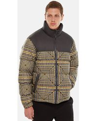 The North Face - 1992 Nuptse Lcd Capsule Print Jacket - Lyst