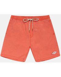 Deus Ex Machina Sandbar Garment Dye Shorts - Pink
