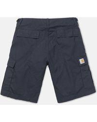 Carhartt Wip Aviation Cargo Shorts - Black