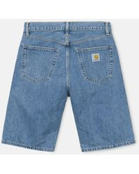 Carhartt Wip Pontiac Shorts (relaxed Fit) - Blue