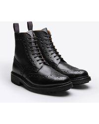 Grenson - Fred Commando Sole Boot - Lyst
