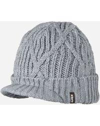 4ce109698f6bc Nike Regional Swoosh Peaked Beanie Hat in Blue for Men - Lyst