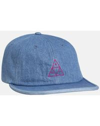 d63b8dea5408c Lyst - Huf The Triple Triangle Snapback Hat in Red for Men