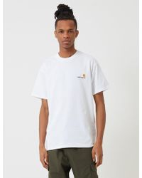14895eb21e13 Lyst - Carhartt Stray Script T-shirt in White for Men