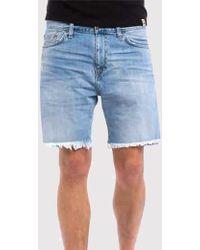 Carhartt Davies Open Hem Shorts - Blue