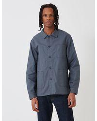 Le Laboureur Cotton Work Jacket - Gray