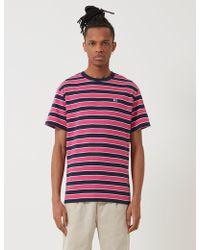 Tommy Hilfiger Bold Stripe T-shirt - Purple