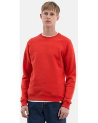 Norse Projects Ketel Summer Classic Sweatshirt - Red