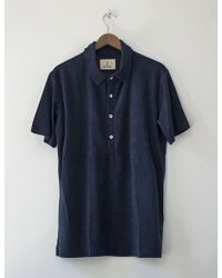 La Paz - Leao Terry Towelling Polo Shirt - Lyst