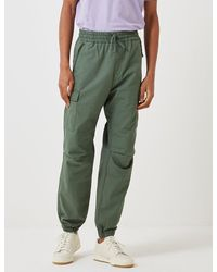 Carhartt Wip Cargo Jogger Trousers (ripstop) - Green