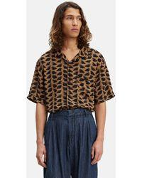 Levi's Made & Crafted Pyjama Shirt - Brown