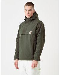 Carhartt Wip Nimbus Half-zip Jacket (un-lined) - Green