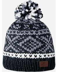 8fc5c936d4f Thom Browne Snowflake Fair Isle Pom-pom Hat in Blue for Men - Lyst
