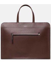 Sandqvist Stina Briefcase - Brown