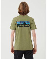 Patagonia - P-6 Logo Responsibili-tee T-shirt - Lyst