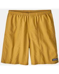 "Patagonia Baggies Longs Shorts (7"") - Yellow"