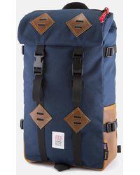 Topo Klettersack Bag (brown Leather) - Blue