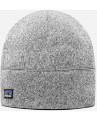 Patagonia Better Sweater Beanie Hat - Gray