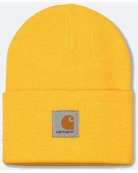 Carhartt Wip Watch Beanie Hat - Yellow