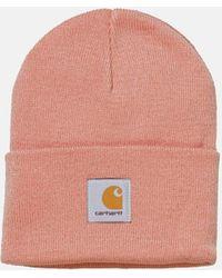 Carhartt Watch Cap Beanie Hat - Pink