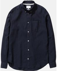 Norse Projects Osvald Button Down Shirt - Blue